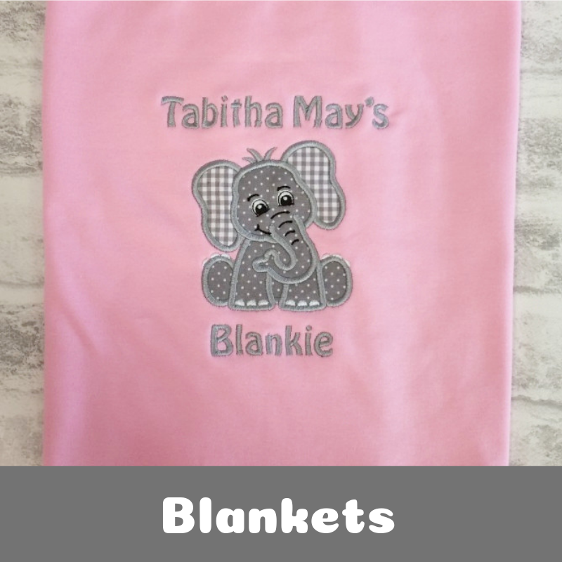 Personalised Newborn Baby Gifts Baby Blankets