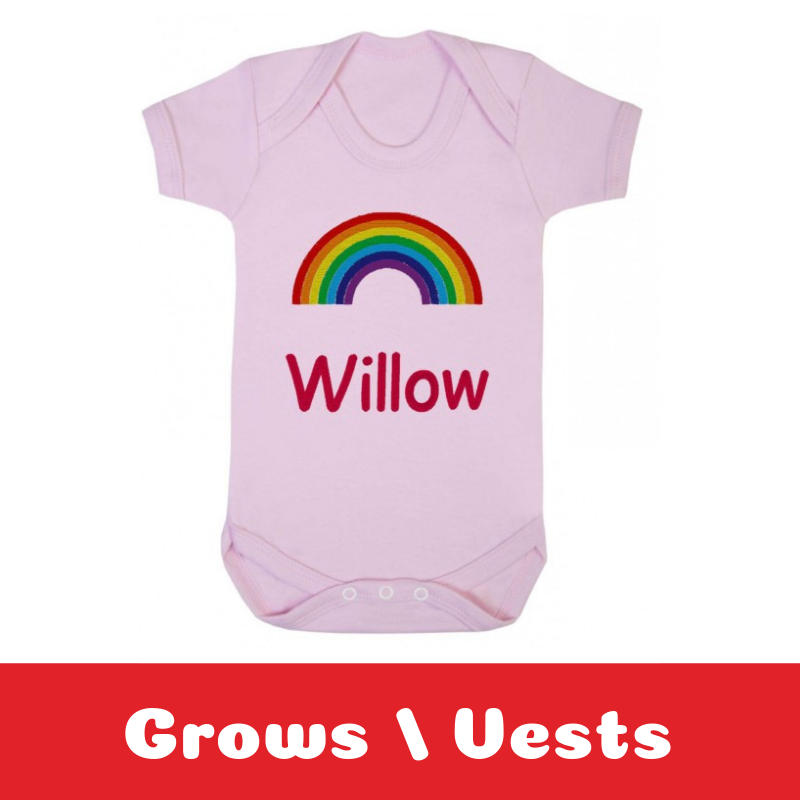 Personalised Newborn Baby Gifts Baby Vests