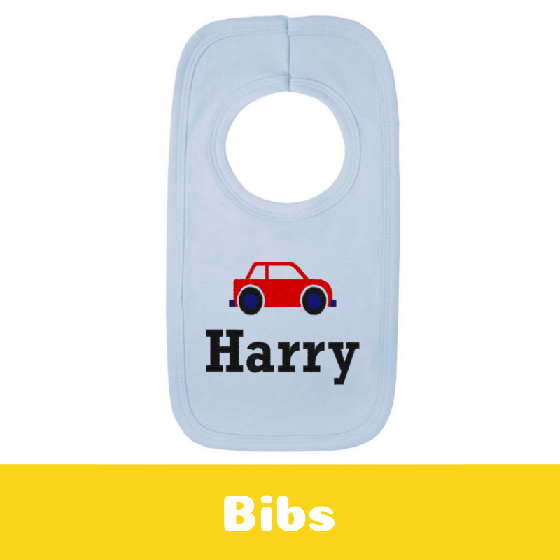 Personalised Newborn Baby Gifts Baby Bibs