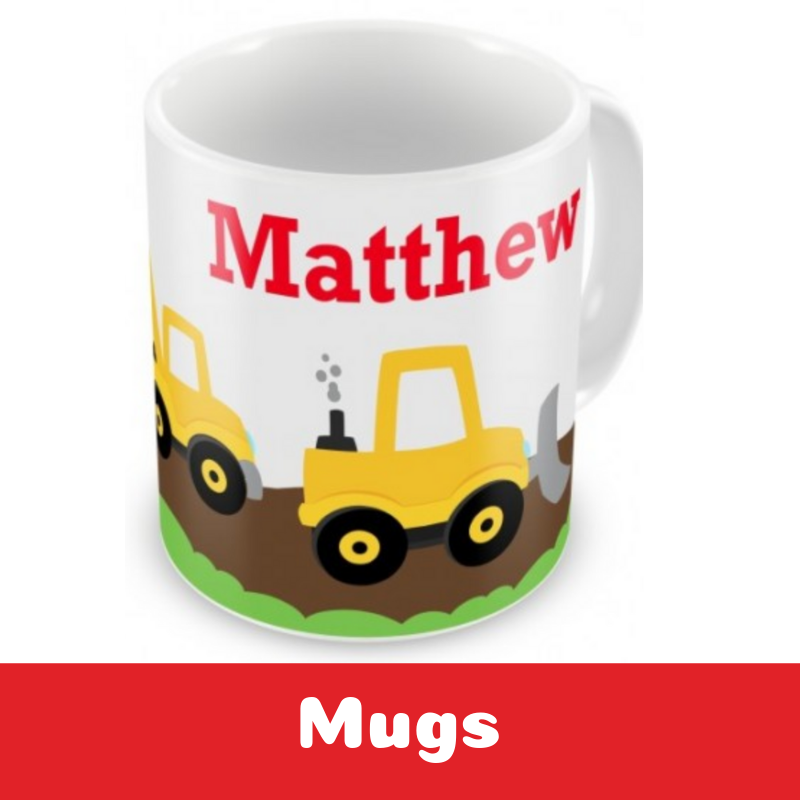 Personalised Mugs Cups for Children