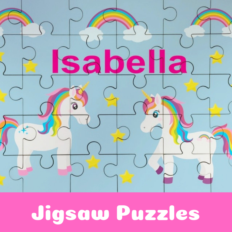 Personalised Jigsaw Puzzle For Kids
