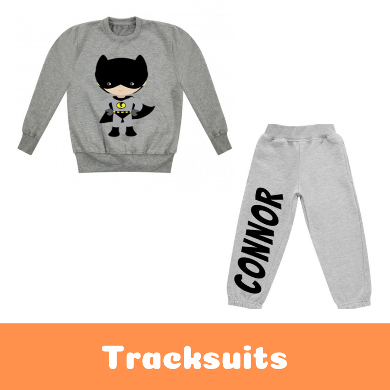 Personalised Printed Children's Tracksuits