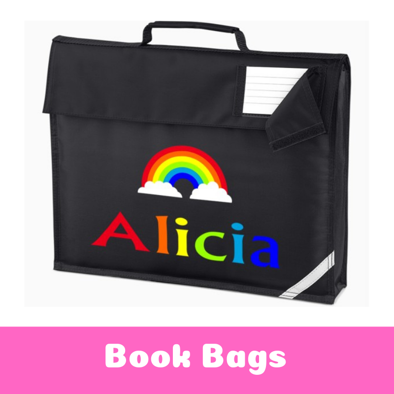 Personalised School Book Bags for Kids