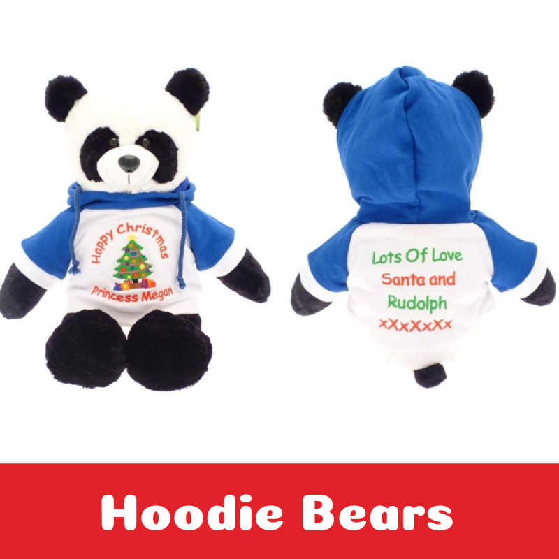 Personalised Embroidered Large Teddy Bears