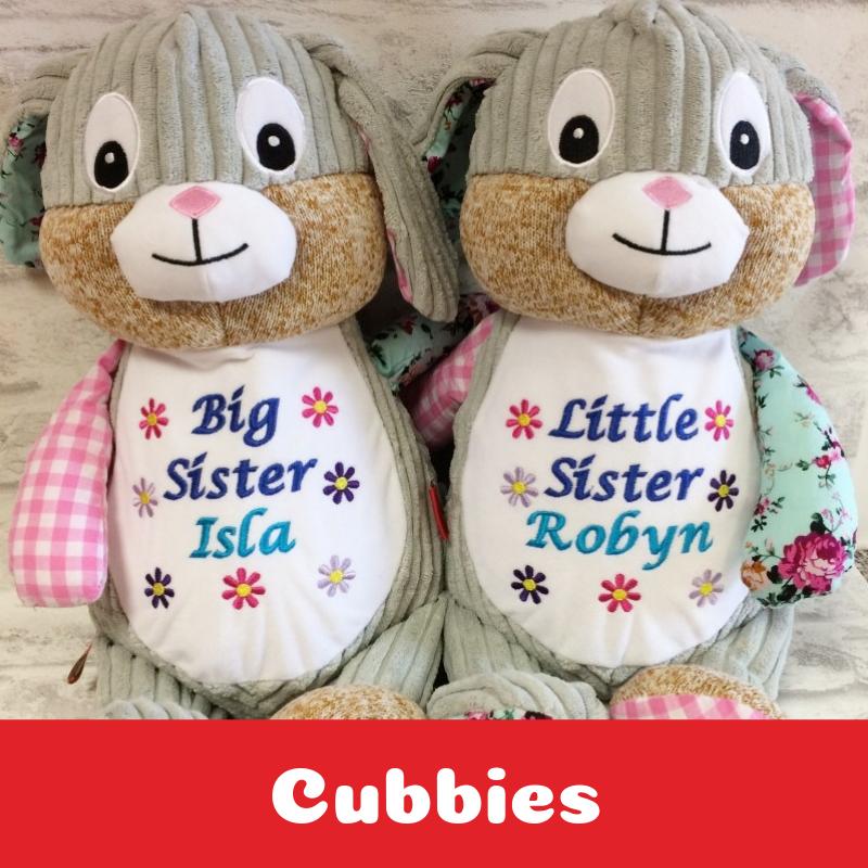 Personalised Cubbies