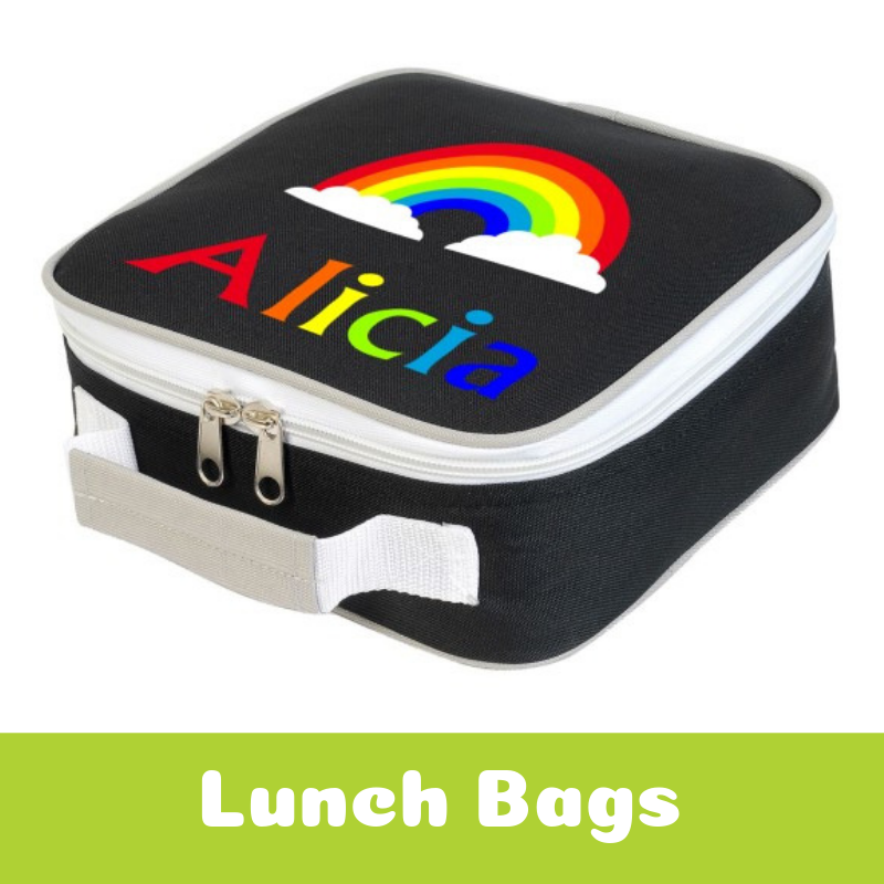 Personalised Lunch Bags For Children Back To School