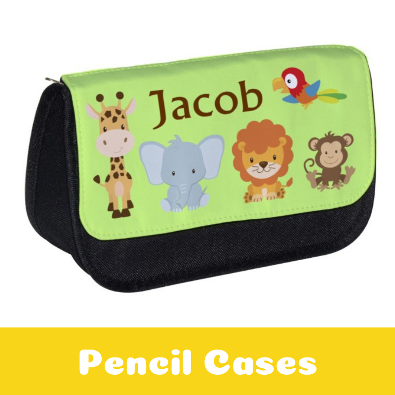 Personalised Pencil Cases for Children / Back To School