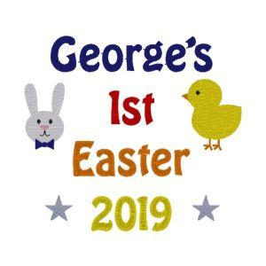 1st Easter Any Name Design