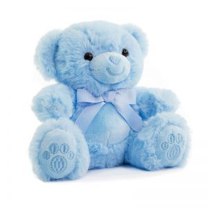 Blue Bear with Paws