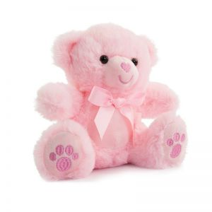 Pink Bear with Paws