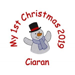 My 1st Christmas Any Name + CHOOSE DESIGN