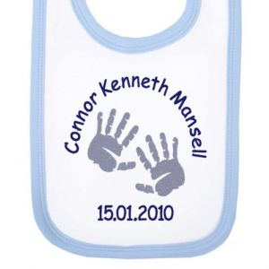 Newborn Baby Boy Bib (Choose Design)