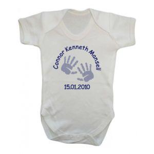Newborn Baby Boy Vest (Choose Design)