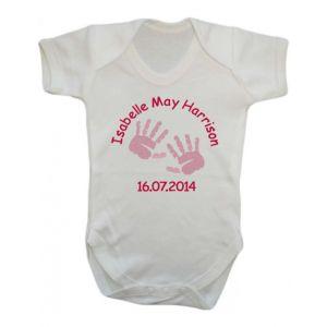 Newborn Baby Girl Vest (Choose Design)