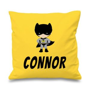 Bat Boy Any Name Printed Cushion