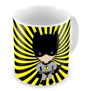 Superhero Bat Boy Any Name Mug