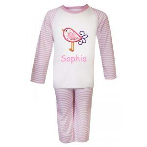 Bird Any Name Embroidered Pyjamas