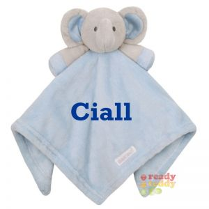 Blue Elephant Baby Comforter
