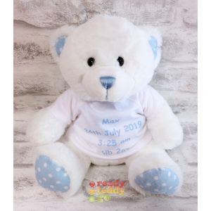 Blue Spotty The Baby Bear