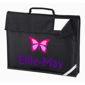Butterfly Any Name Book Bag