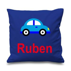 Car Any Name Printed Cushion