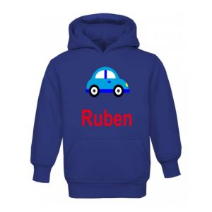 Car Any Name Childrens Hoodie