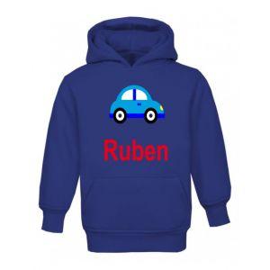Car Any Name Childrens Hoodie