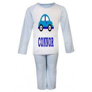 Car Any Name Childrens Pyjamas
