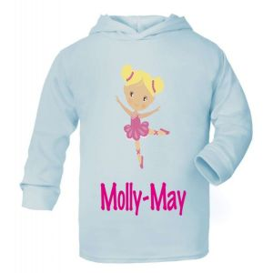 Ballet Dancer Any Name Childrens T-Shirt Hoodie
