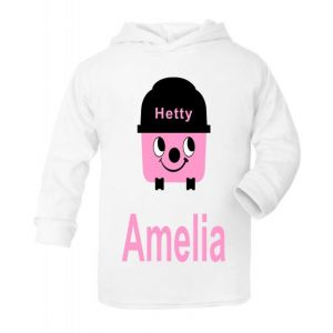 Hetty Hoover Any Name Childrens T-Shirt Hoodie