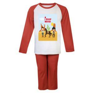 Cowboys Any Name Childrens Pyjamas