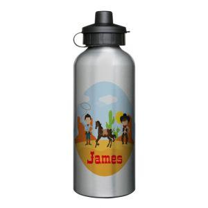Cowboys Scene 600ml Sports Drinks Bottle