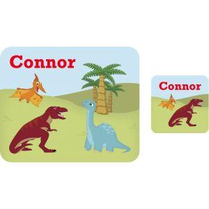 Dinosaurs Hardboard Placemat & Coaster