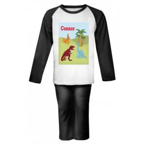 Dinosaurs Any Name Childrens Pyjamas