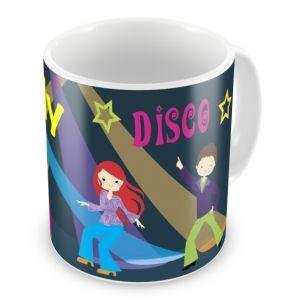 1970's Disco Dancing Any Name Mug