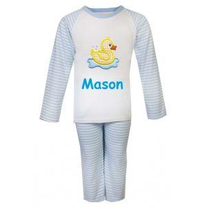 Duck Any Name Embroidered Pyjamas