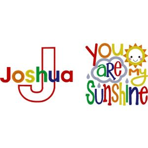 You're My Sunshine Any Name Design
