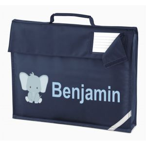 Elephant Any Name Book Bag