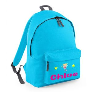 Fairy Any Name Childs Rucksack