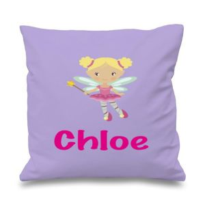 Fairy Any Name Printed Cushion