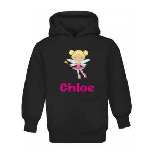 Fairy Any Name Childrens Hoodie