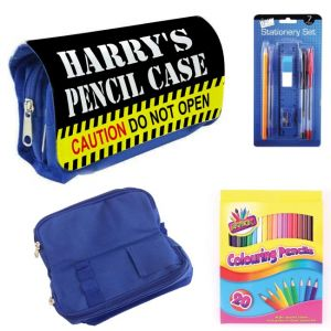 Caution Do Not Open Filled Pencil Case