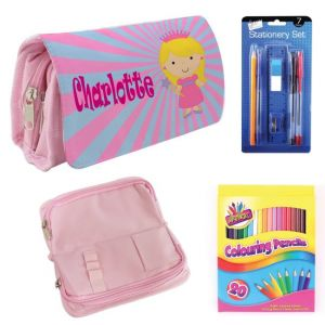 Princess Filled Pencil Case
