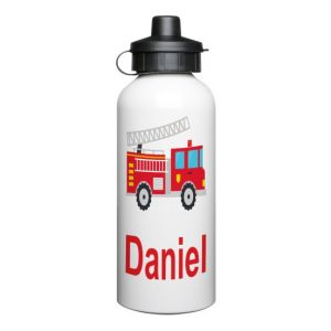 Fire Engine 600ml Sports Drinks Bottle