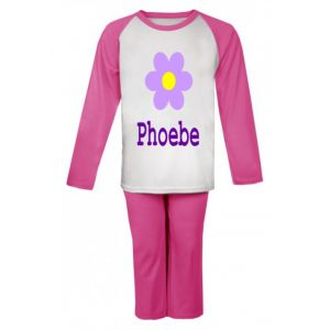 Flower Any Name Childrens Pyjamas