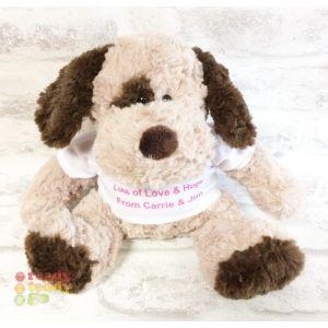 Boris The Dog Fluffy Soft Toy