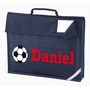 Football Any Name Book Bag