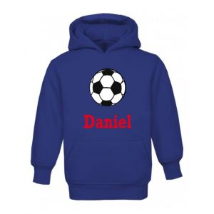 Football Any Name Childrens Hoodie