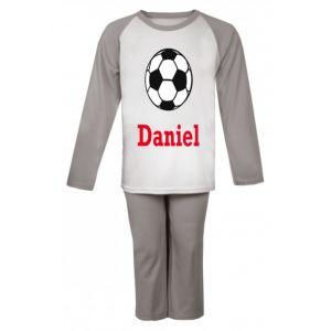 Football Any Name Childrens Pyjamas