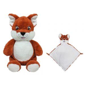 Makkapitew Fox Cubbie & Blankie Gift Set